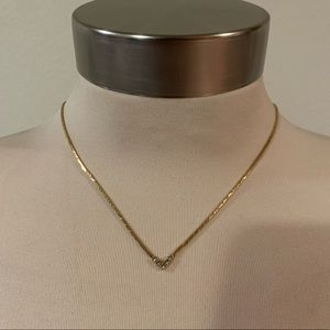 Jewelry - Vintage gold chain dainty necklace